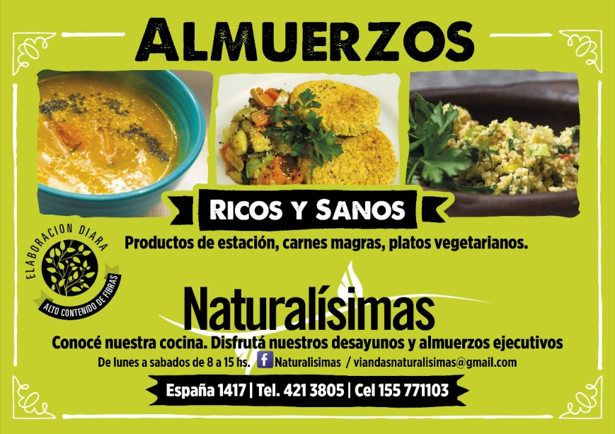 Naturalisimas flyer