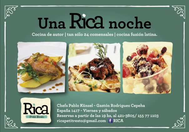Rica flyer